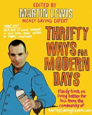 Thrifty Ways For Modern Days by Lewis, Martin Paperback Book