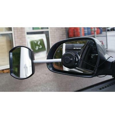 'Suck it & See' Convex Extension Car Towing Mirror - Suction fitting - Caravan