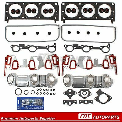 95-99 GM 3100 3.1L 189 Cylinder Head Gasket Set w/ UPGRADED Intake Mnifo. Gasket