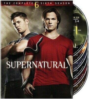 Supernatural: The Complete Sixth Season [6 Discs] (2011, DVD NEW)