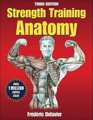 Strength Training Anatomy by Frederic Delavier Paperback Book (English)