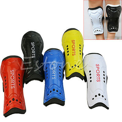 Utility 1 Pair Competition Pro Soccer Shin Guard Pads Shinguard Protector New