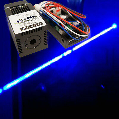 445nm-450nm 1000mW Blue Laser Module/ Industrail Design with cooling fan