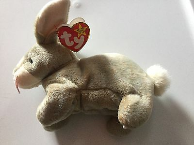 *NEW* -- NIBBLY-- BUNNY RABBIT* TY Beanie Baby* MINT CONDITION