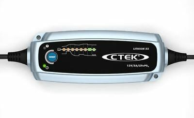 CTEK Lithium XS 12v 5A  Smart Battery Charger For LiFePO4 Batteries 8 Stage