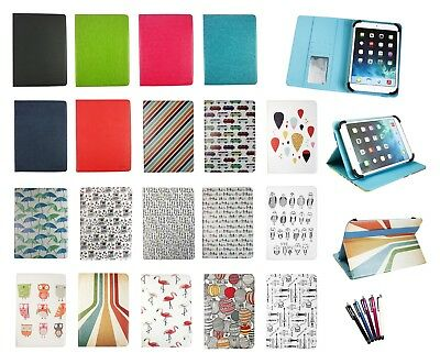 Stylish Universal Wallet Case Cover fits Alcatel OneTouch Pixi 3 10 Inch Tablet
