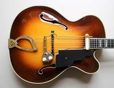 1958 Guild Johnny Smith Award with gold DeArmond Rhythm King Award 1000 pickup
