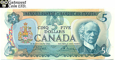 Raw Bank of Canada 1979 $5 Replacement Note Serial Number 31003883886 Choice UNC