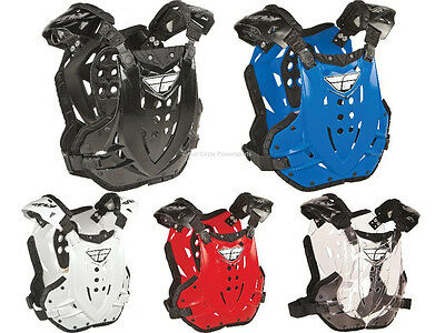 Fly Racing Stingray Adult Chest Roost Guard Protector Deflector Motocross MX/ATV