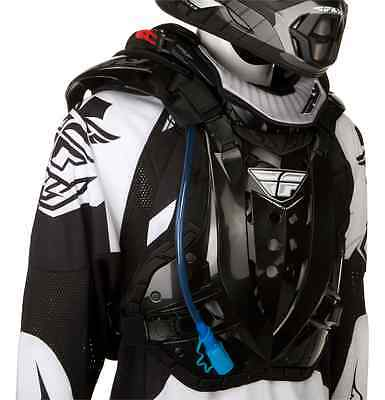 Fly Racing Stingray Hydration/Protection Kit Black Chest Roost Protector Guard