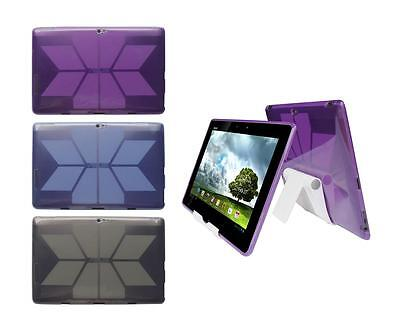 View Stand Holder + TPU Skin Case Cover for ASUS Transformer Pad Infinity TF700T