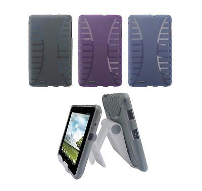 View Stand Holder + TPU Gel Skin Case Cover for ASUS Memo Pad ME172V Tablet