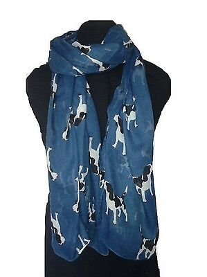 New Arrival Ladies Spanial  Dog Print Scarf  Scarf Lovely Soft Scarf