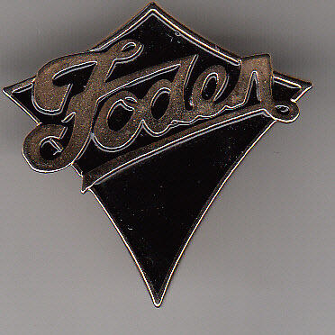 Foden Truck Cap Or Jacket Pin - Badge
