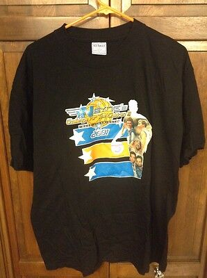'N Sync 2001 Challenge For Children III Daze v Knights Basketball Tee T Shirt XL