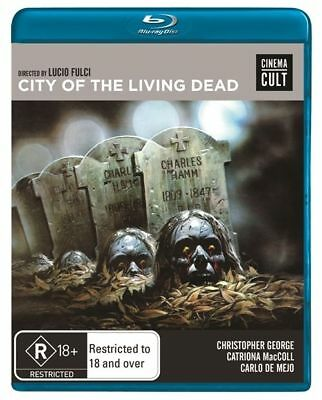 D4 BRAND NEW SEALED City Of The Living Dead by Lucio Fulci (Blu-ray, 2013)