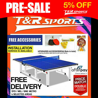 2018 Model 25Mm Double Happiness Tournament Table Tennis Table Free Accessory