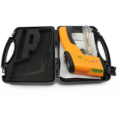 LCD Non-Contact High Temperature Infrared Laser Thermometer Gun Pyrometer 1600℃