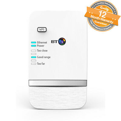 BT Dual-Band Wi-Fi Extender 610 Booster Kit in White