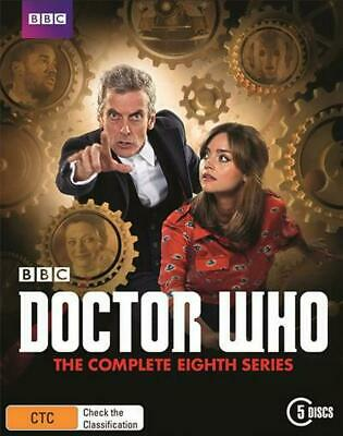 Doctor Who : Series 8 - Blu Ray Region B Free Shipping!