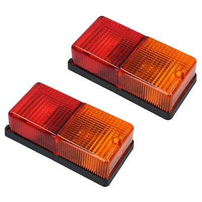 4 Function Rear Trailer Light / Lamp Electrics Caravan PAIR TR143