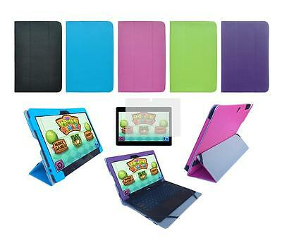 Folio Skin Cover Case and Screen Protector for Nextbook Ares 11 / Flexx 11