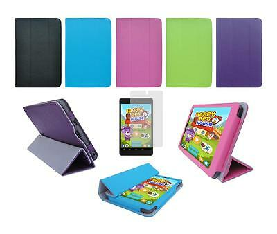 Folio Skin Cover Case and Screen Protector for Nextbook Ares 7 NXA7QC132 Tablet