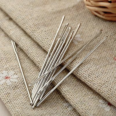 5x Large Eye Blunt Darning Needles Embroidery Tapestry Needle Sewing Craft Tool