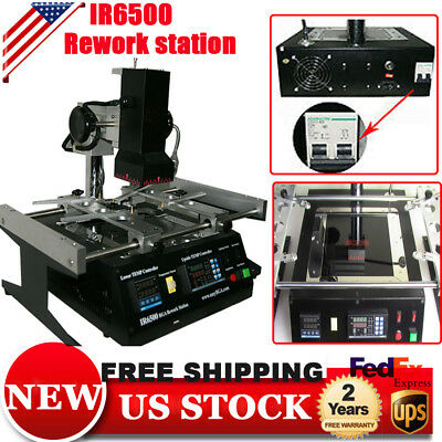 IR6500 Infrared BGA Rework Station Repair Heating Reball Soldering WeldingWelder