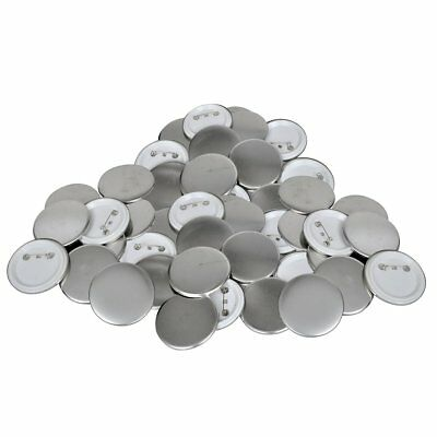 Buttonrohlinge Rohlinge für Buttonmaschine Buttonteile Buttons 25mm 500 Sets