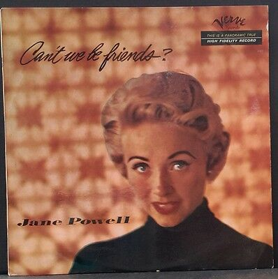 Jane Powell - Can't We Be Friends? Orig. 1956 Aus Press Verve Mgv-2023 Ex Rare!