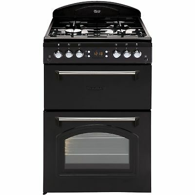 Leisure CLA60GAK 60cm Classic Mini Range Cooker with 4 Burners in Black