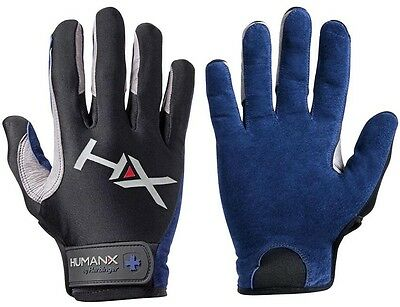 Harbinger HumanX X3 Competition Weight Lifting Gloves - Blue/Gray
