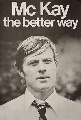 The Candidate 1972 U.S. Poster