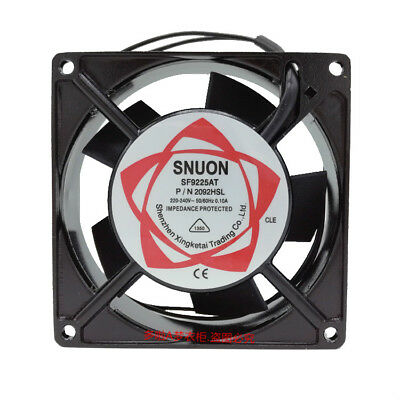 New SUNON SF9225AT 220-240 VOLT COOLING FAN 92x92x25mm