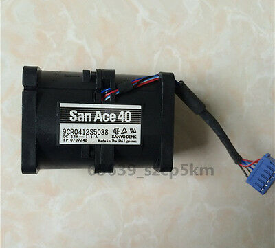 San Ace 40  9CR0412S5038  DC12V 1.1A For Dell PowerEdge 1850 Fan Y2205 0Y2205