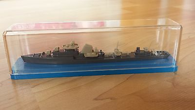 Vintage Soviet Navy Ship Metal Model in original box
