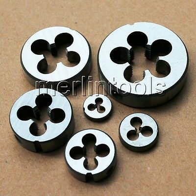 M1 - M14 Right hand Thread Die Select size