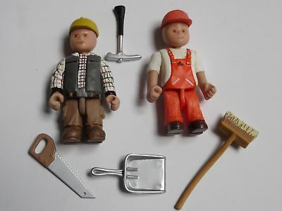 Kinderspielzeug Construction Figuren Bauarbeiter Schreiner Joe +  Helfer William