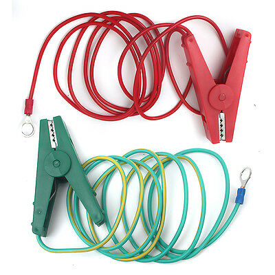 Electric Fence Crocodile Clip Cable Fence Lead Earth Leads for Fencing Energiser