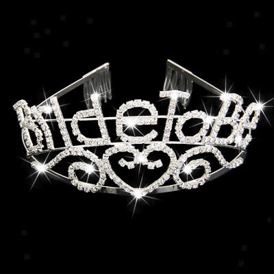 CRYSTAL BRIDE TO BE TIARA Bachelorette GIRLS NIGHT OUT HEN PARTY DO SUPPLY