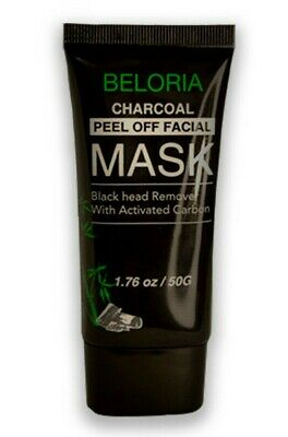 Charcoal Activated Black Face Mask Blackhead Remover Peel Off Facial Mask New