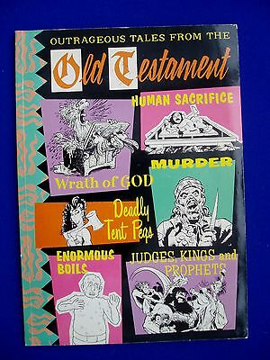 Outrageous Tales from The Old Testament: underground pb.  Alan Moore, Gaiman.