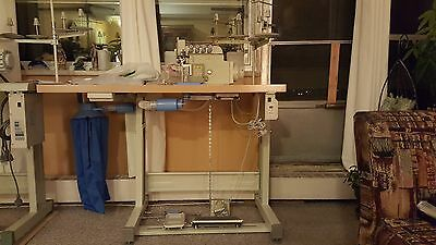 industrial sewing machine (serger)