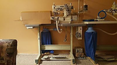 industrial hemming machine/coverstitch machine