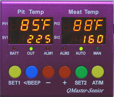 BBQ Automatic Temperature Controller ATC, For Wood Charcoal Offset Smoker Grill