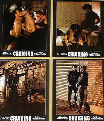 CRUISING - Lobby Cards Set - VERY RARE - GAY - Al Pacino, William Friedkin
