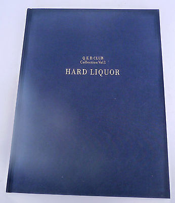 Q.E.D. Club Restrnt Tokyo Japan Hard Liquor ltd. ed. Whiskey Cognac collection