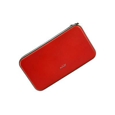 Practical and Fashionable 80 Disc CD DVD Storage Bag Organizer Case Wallet Red