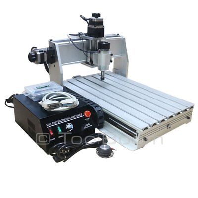 ChinaCNCzone 3040Z-DQ 4-axis CNC Router Engraver (230 W)